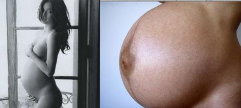 La maternidad real en imágenes 1